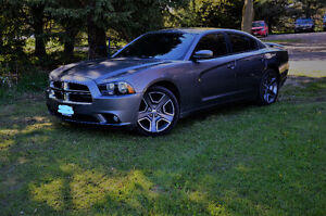 2012 Dodge Charger SXT Plus Sedan with winter car