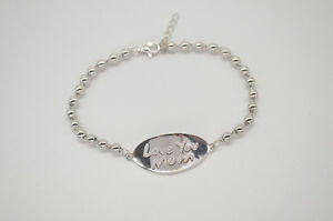 Love You Mom S925 STERLING SILVER BRACELET
