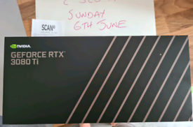 Nvidia Geforce RTX 3080 Ti Founders Edition Graphics Card — NEW SEALED