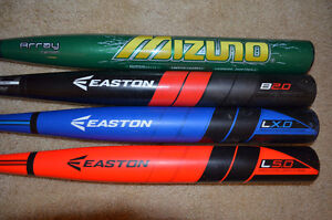 Composite Slowpitch Softball Bats - Easton, Mizuno
