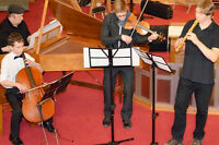 Live baroque music for your event