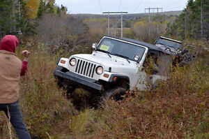 1999 Jeep TJ SUV, Crossover