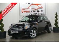 2010 60 MINI HATCH COOPER 1.6 COOPER 3D 122 BHP