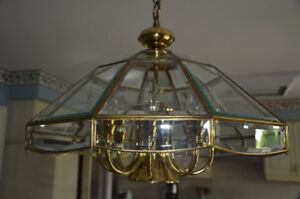 Chandelier and sconces  - like new!