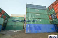 --- Used 40' Storage Containers $1700 / HC $1700 --- Blowout! --