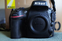 Nikon D800 - full frame body - Mint, only 5300 actuations