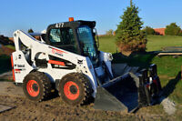 Yard and earthworks, removals.