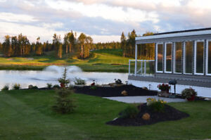 Trestle Creek Golf Resort Near Seba Beach & Wabamun