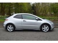 2008 HONDA CIVIC I-VTEC TYPE-S HATCHBACK PETROL