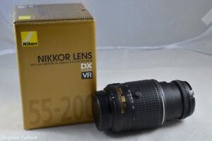 Objectif  DX  Nikon  AF-S  Zoom 55-200mm f/4-5.6  ED  VR .