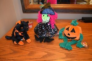 Ty Beanie Babies *Retired & Rare* - Set of 10 Halloween Beanies Sarnia Sarnia Area image 1