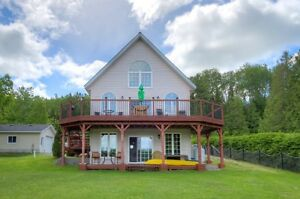 Exceptional Waterfront Home Located in Espanola on Clear Lake