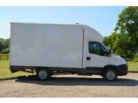 IVECO DAILY 2.3 35S13 Box Van with side loading and rear double doors-NO VAT
