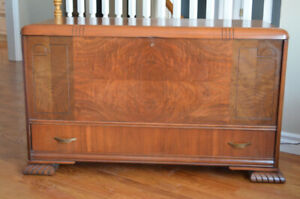 Solid Walnut/Cedar Lined Hope Chest