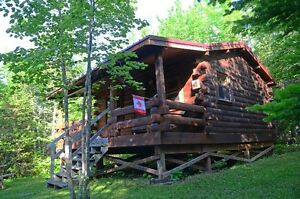Log Cottage Stay for only 95.00 per night