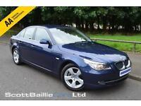 2007 07 BMW 5 SERIES 2.0 520D SE 4D 161 BHP DIESEL