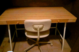 Desk n chair for sale