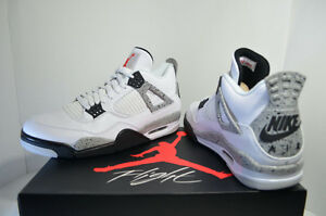 Jordan 4 Retros -  White Cement