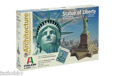 Italeri 68002 World Architecture Plastic Model Kit Statue of Liberty - Architecture Model Kits