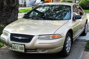 1999 Chrysler Cirrus LX Sedan MINT, LOW MILEAGE