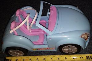 Qty 4 x Barbie Jeep / Cars - Blue, Purple, Pink