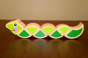 Melissa & Doug  Wiggly Worm grasping toy