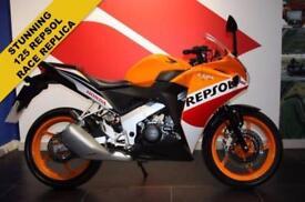 2016 16 HONDA CBR125R R-F REPSOL