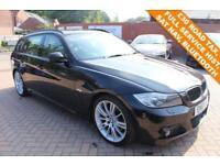 2010 10 BMW 3 SERIES 2.0 318D M SPORT BUSINESS EDITION TOURING 5D 141 BHP DIESEL