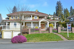Single House with Ocean View in South Surrey