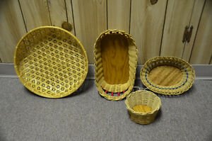 Wicker baskets Strathcona County Edmonton Area image 1