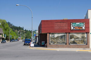 #B 1998 Vernon Street, Lumby -  Great downtown location!