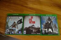 3 xbox one games for $50