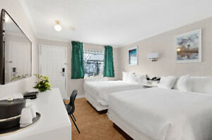 Room Rental With Two Luxurious Double Beds