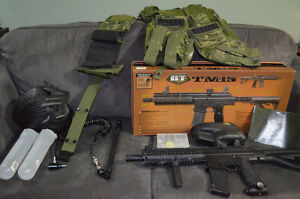 BT TM15 Paintball Marker + Accessories