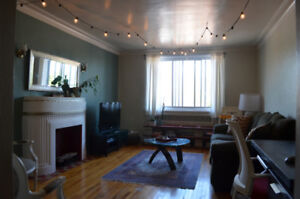 Renting November 1st. Spacious 3 1/2 comes fully furnished!