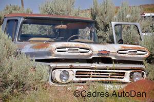Cadres de voitures anciennes à vendre