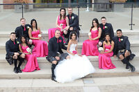 45% OFF WEDDING PHOTO $750 & VIDEO $850 ALL $1600 OR CHOOSE ONE