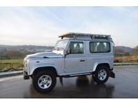 LAND ROVER 90 DEFENDER COUNTY 2.4 TDCi XS, 2007 07 PLATE