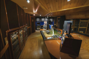 studio d'enregistrement /recording studio vintage