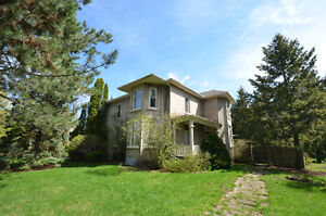 CENTURY HOME ON 1.26 ACRES - 226 Victoria Avenue N, Lindsay, ON