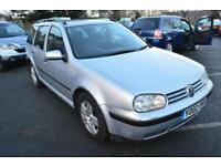 2002 Volkswagen Golf 1.9 TDI PD SE ESTATE DIESEL AUTOMATIC