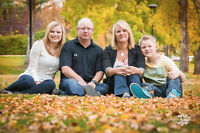 Family Photgraphy Sessions for Fall And Christmas