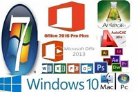 WINDOWS 7--10--8.1-MS OFFICE 2016-PHOTOSHOP -AUTOCAD -ANTIDOTE