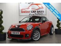 2011 61 MINI COUPE 1.6 COOPER 2D CHILLI PACK JCW
