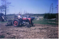 Internation farm tractor