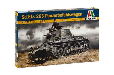 Italeri 7072 Kleiner Panzer Befehlswagen Model Kit Bausatz 1:72
