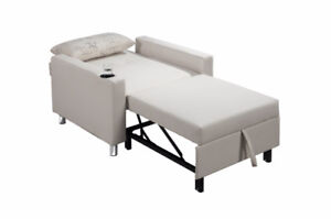BRAND NEW Fabric Chair Bed with multiple back positions
