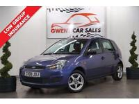 2008 08 FORD FIESTA 1.2 STYLE 16V 5D 78 BHP
