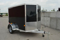All Aluminum Cargo Trailer 5X8 Black! Others available! CheckOut