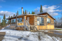 UNIQUE CEDAR HOME ON 87 ACRES IN MASSEY, ON